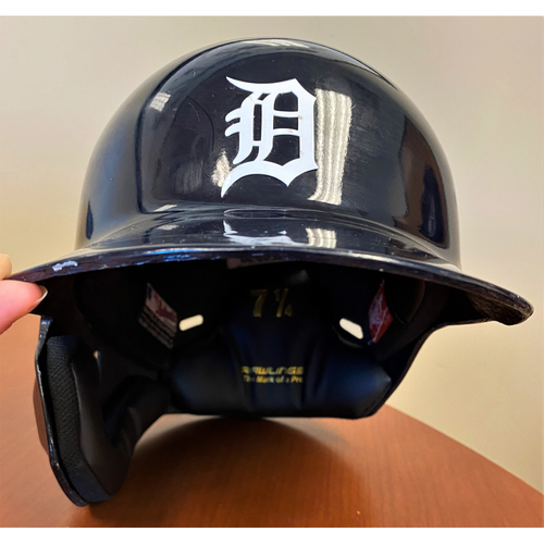 Photo of Willi Castro #49 Detroit Tigers Rookie Season Game-Used Home Batting Helmet  (MLB AUTHENTICATED)