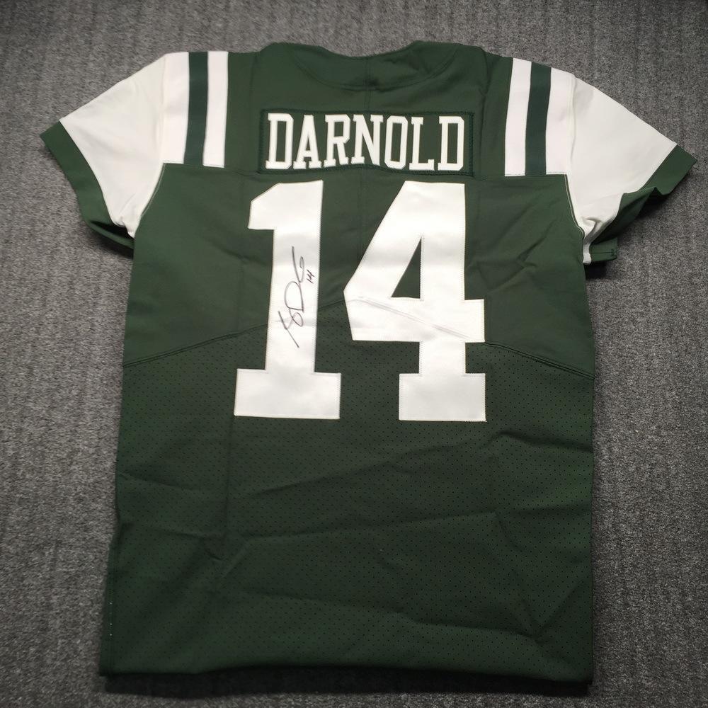 NFL - Jets Sam Darnold Signed Jersey Size 44
