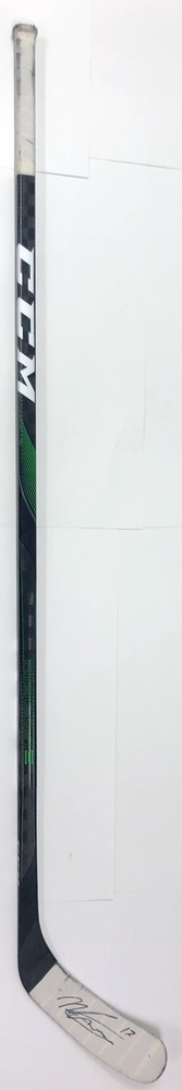 #17 Nicholas Caamano Game Used Stick - Autographed - Dallas Stars