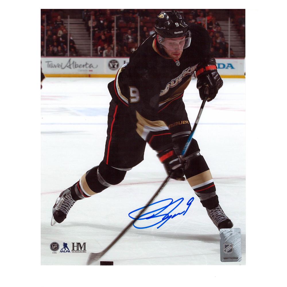 BOBBY RYAN Signed Anaheim Ducks 8 X 10 Photo - 70262