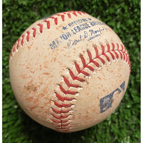Photo of Clayton Kershaw Strikeout Pitched Ball to Charlie Morton - June 5, 2021