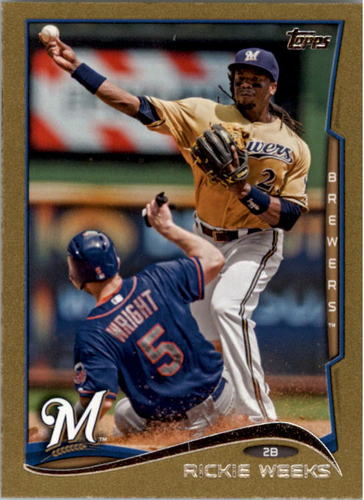 Photo of 2014 Topps Mini Gold #172 Rickie Weeks