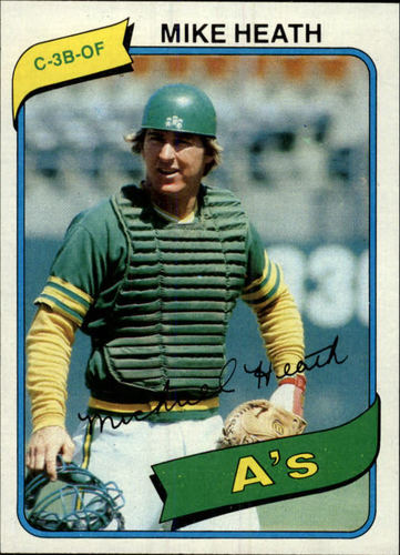 Photo of 1980 Topps #687 Mike Heath DP