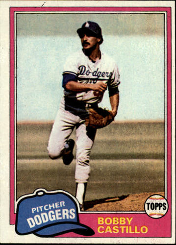 Photo of 1981 Topps #146 Bobby Castillo