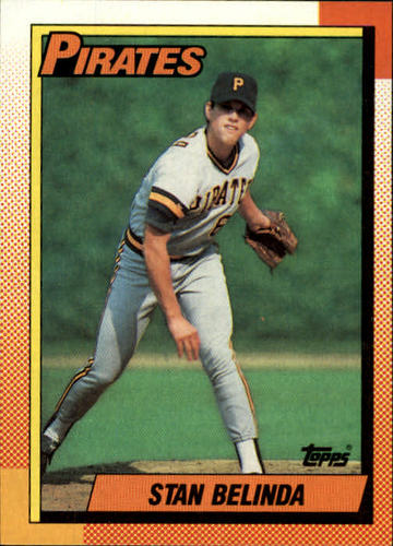 Photo of 1990 Topps #354 Stan Belinda RC