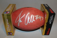 NFL - REDSKINS JONATHAN ALLEN SIGNED AUTHENTIC FOOTBALL