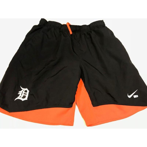 Team-Issued Justin Verlander Workout Shorts
