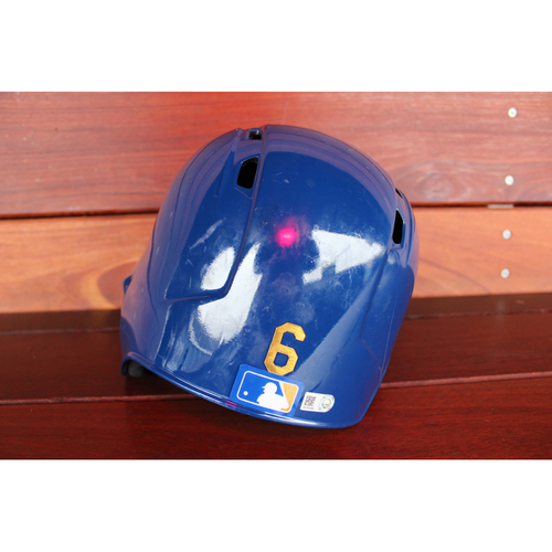Game-Used Helmet: Lorenzo Cain (Size 7 1/8 - ARI at KC - 9/29/17)
