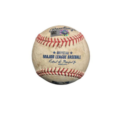 Photo of Game-Used Baseball from Pirates vs. Rays on 6/27/17 - Cobb to Polanco, Foul