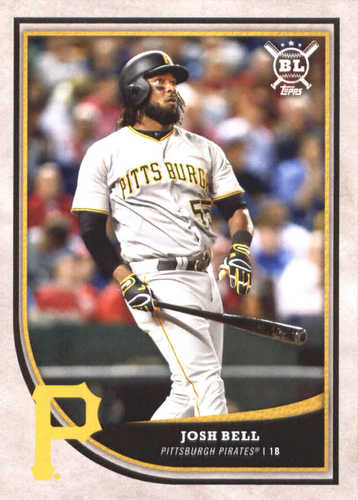Photo of 2018 Topps Big League #143 Josh Bell