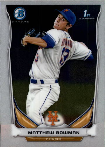 Photo of 2014 Bowman Chrome Prospects #BCP72 Matthew Bowman
