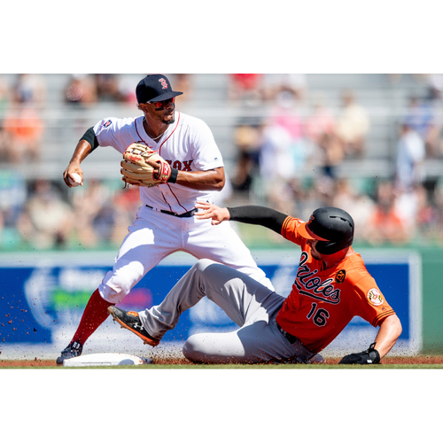 Photo of Red Sox Foundation Game Day - Xander Bogaerts Game-Used and Autographed Jersey
