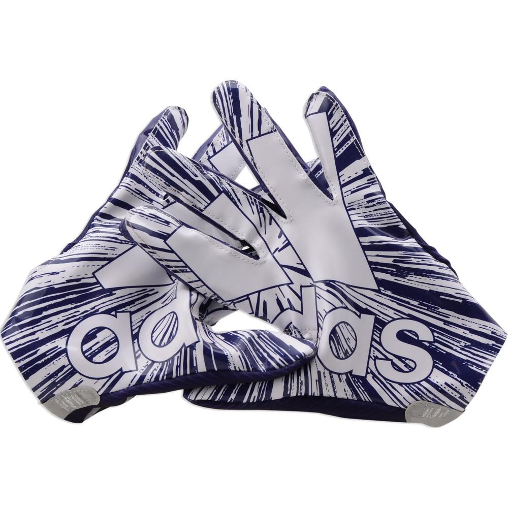 Marquise Brown Baltimore Ravens Event-Worn 2019 NFLPA Rookie Premiere Purple Adidas Gloves