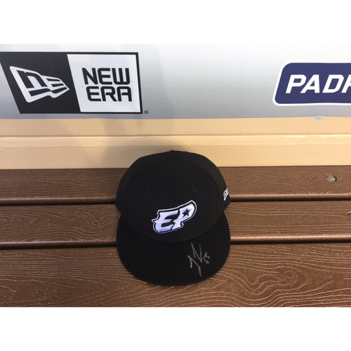 Photo of El Paso Victims Relief Fund Auction San Diego Padres Signed Jose Castillo El Paso Chihuahuas Hat