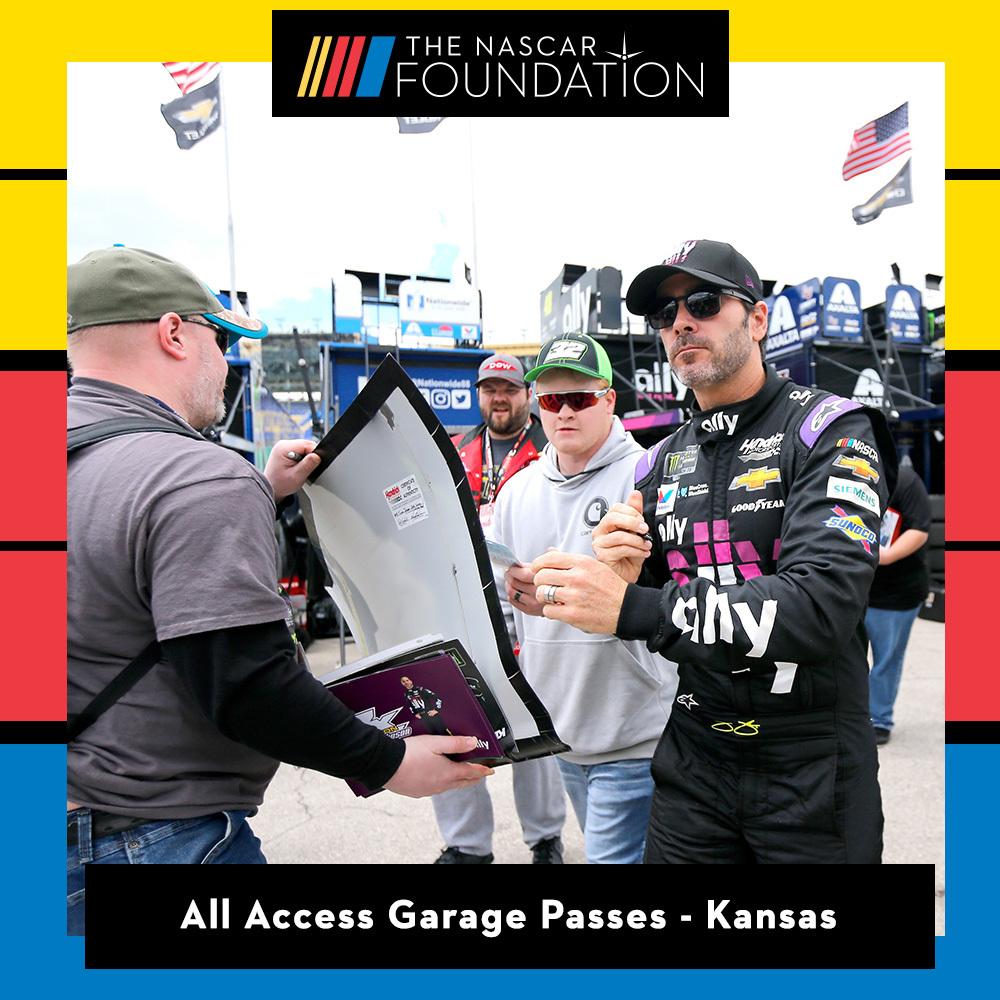 All Access Garage Passes at Kansas Speedway
