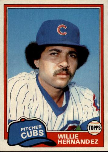 Photo of 1981 Topps #238 Willie Hernandez