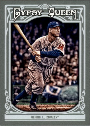 Photo of 2013 Topps Gypsy Queen #83 Lou Gehrig