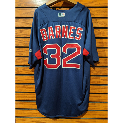 Photo of Matt Barnes Team Issued Blue Batting Practice Jersey
