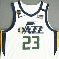 Royce O'Neale - Utah Jazz - Game-Worn Association Edition Jersey - 2019-20 NBA Season Restart with Social Justice Message