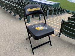Photo of South Bend Silver Hawks Locker Room Chair