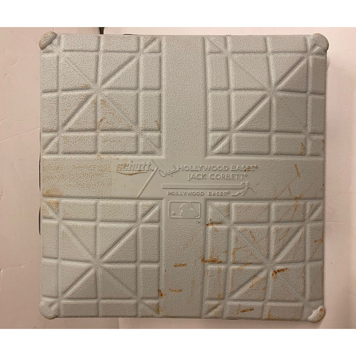 Photo of Third Base used Innings 7-9, October 1, 2020 Wild Card Game 2 - Braves Clinch Wild Card Round