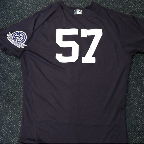 Photo of 2020 Game-Used Spring Training Jersey - Chad Green #57 - Size 46