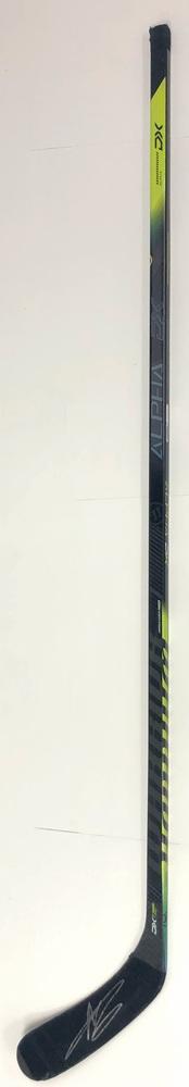 #6 Adam Larsson Game Used Stick - Autographed - Edmonton Oilers