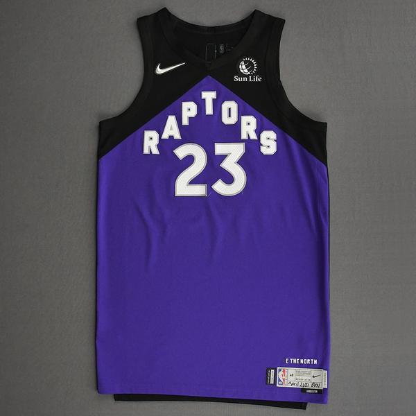 Image of Fred VanVleet - Toronto Raptors - Game-Worn Earned Edition Jersey - 2020-21 NBA Season