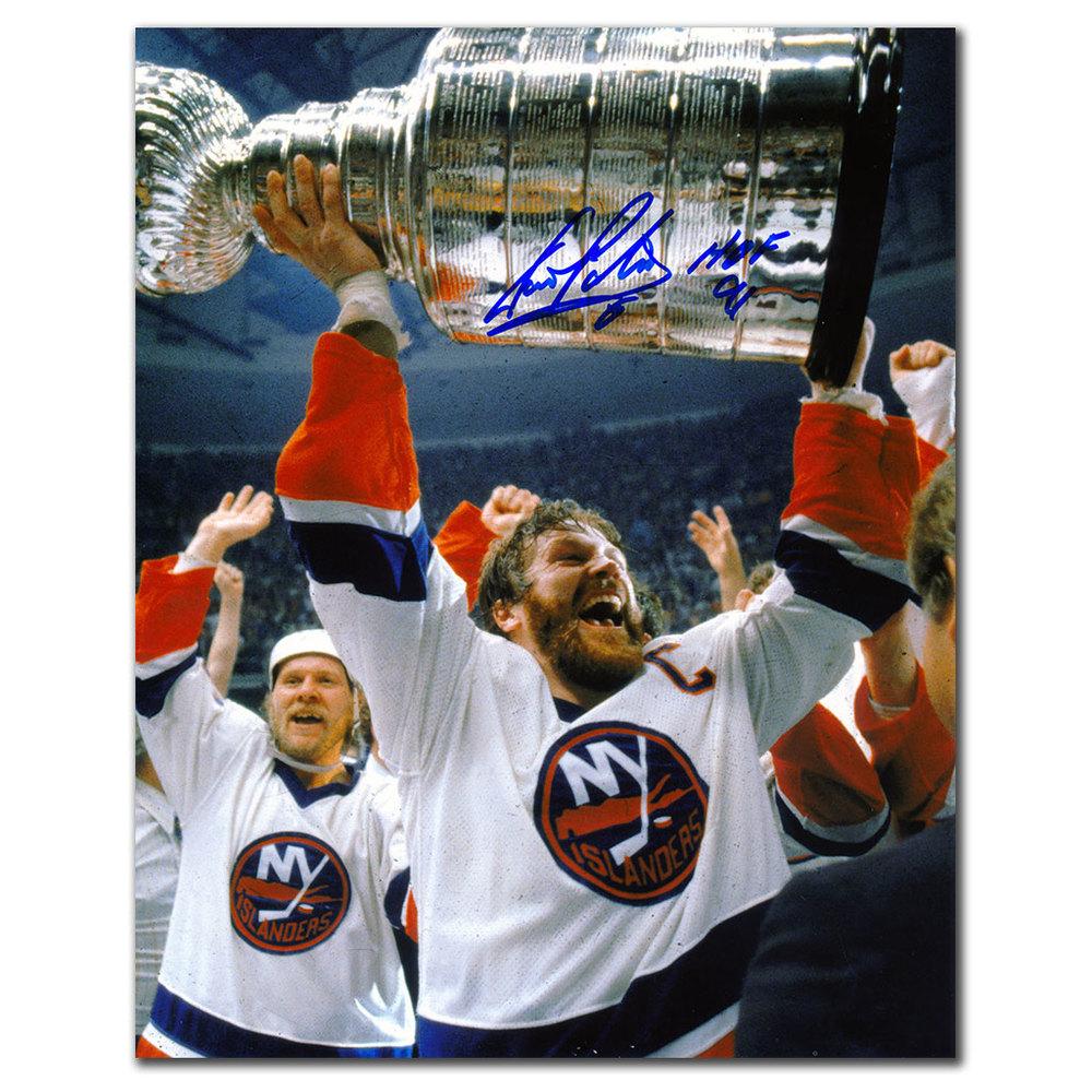 Denis Potvin New York Islanders 1980 STANLEY CUP Autographed 8x10