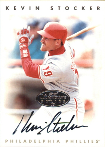 Photo of 1996 Leaf Signature Autographs Silver #215 Kevin Stocker