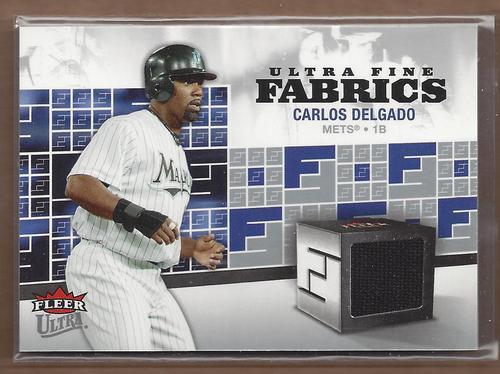 Photo of 2006 Ultra Fine Fabrics #CD Carlos Delgado Jsy