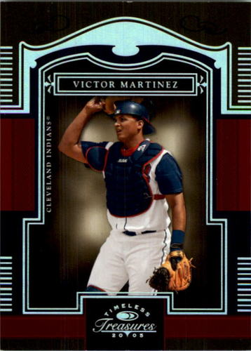 Photo of 2005 Timeless Treasures Silver #73 Victor Martinez