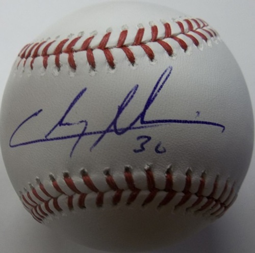 Photo of Chris Tillman Autographed Baseball