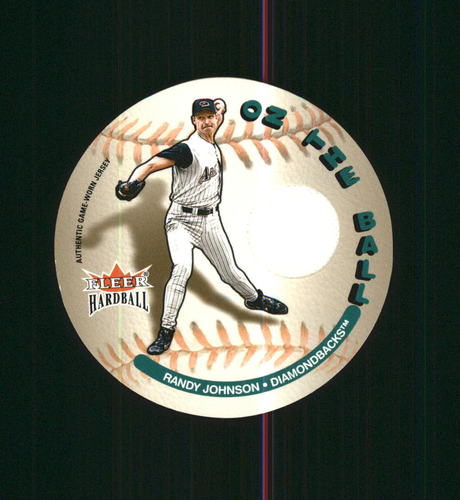 Photo of 2003 Fleer Hardball On the Ball Game Used Randy Johnson Jsy