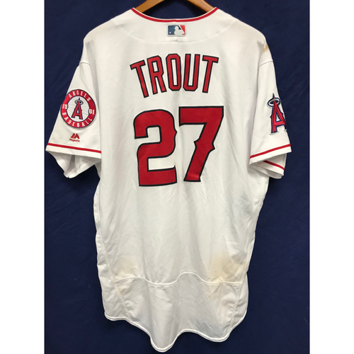 Photo of Mike Trout 2017 Game-Used Home Run Jersey - 4/21/17