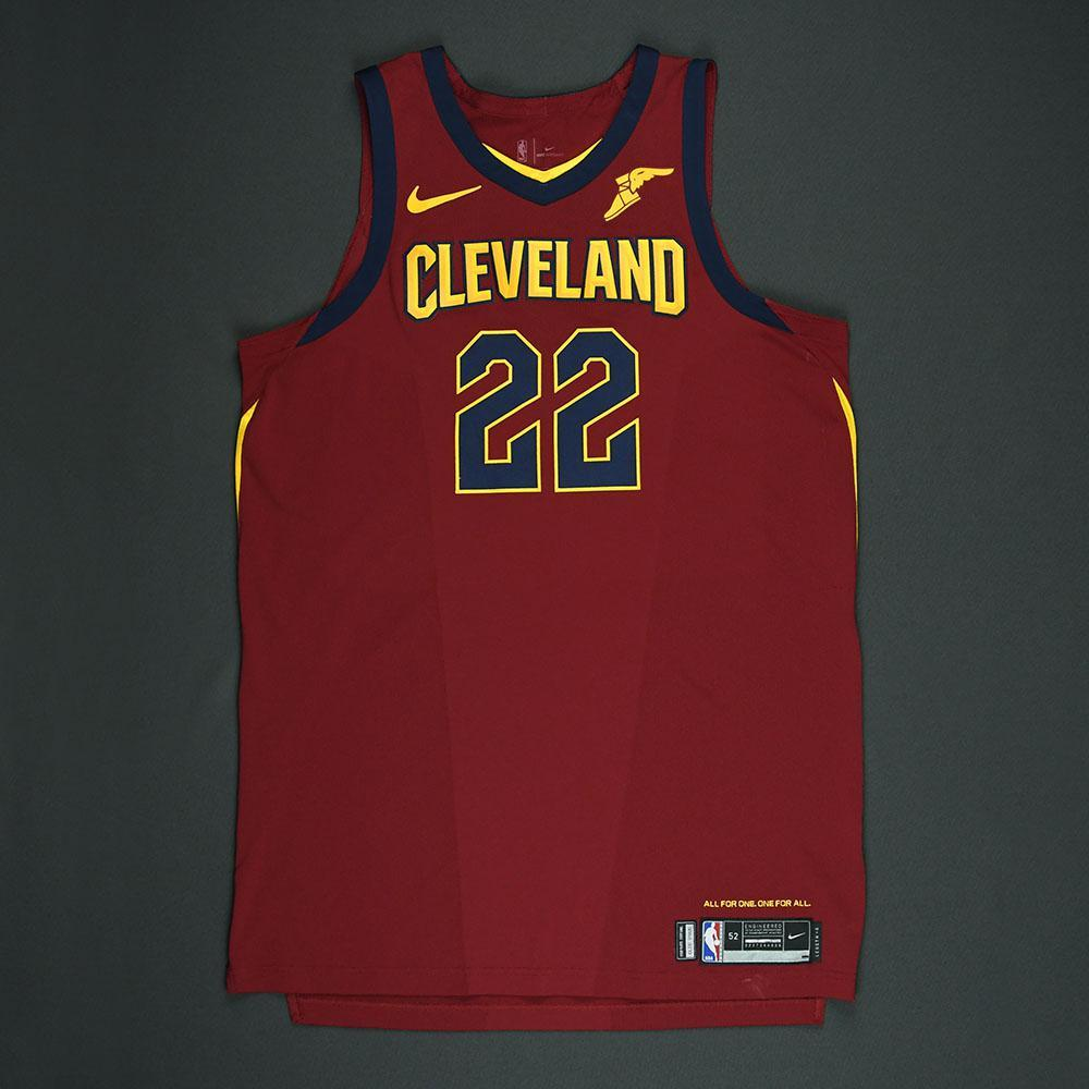 Larry Nance Jr - Cleveland Cavaliers - 2018 NBA Playoffs Game-Worn Jersey - Worn in 2 Games