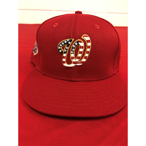 Photo of Game-Used Cap - Anthony Rendon