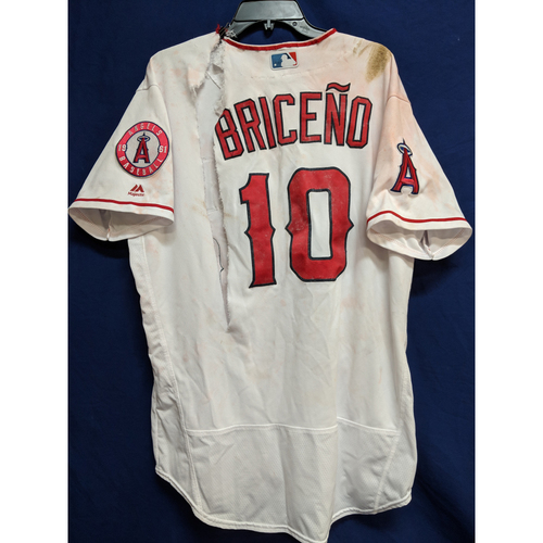 Photo of Jose Briceño Game-Used Home Walkoff Home Run Jersey