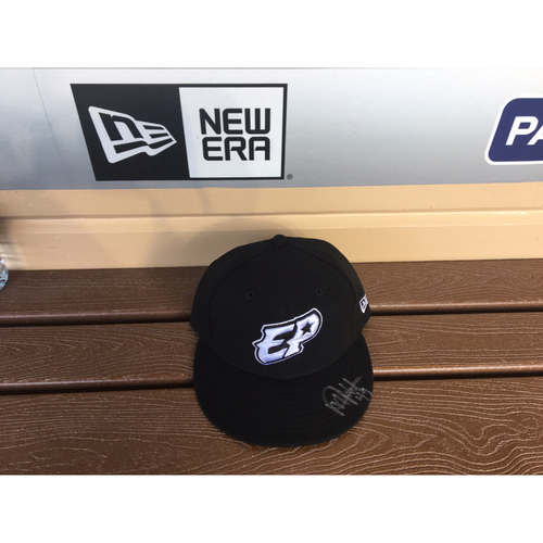 Photo of El Paso Victims Relief Fund Auction San Diego Padres Signed Michel Baez El Paso Chihuahuas Hat