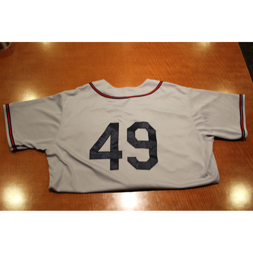 Photo of Game-Used Uniform: 6/1/19 & 6/7/19 Pittsburgh Crawford Uniform Set  - Nick Kingham
