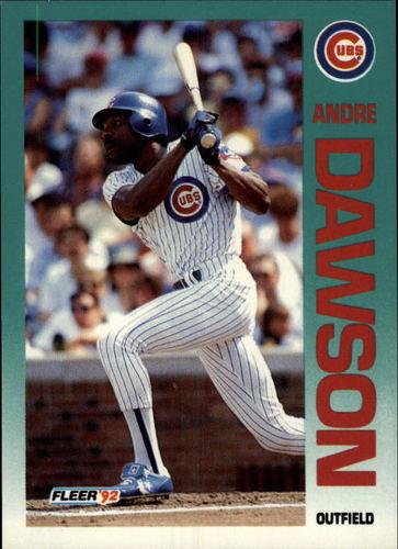 Photo of 1992 Fleer #379 Andre Dawson