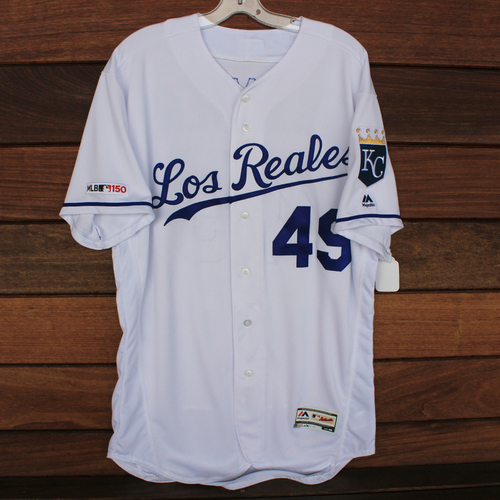 Photo of Team-Issued Los Reales Jersey: Heath Fillmyer (Size 46)