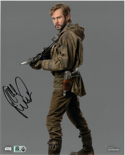 Dominic Monaghan As Beaumont Kin 8X10 AUTOGRAPHED IN 'Black' INK PHOTO