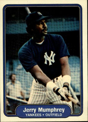 Photo of 1982 Fleer #43 Jerry Mumphrey