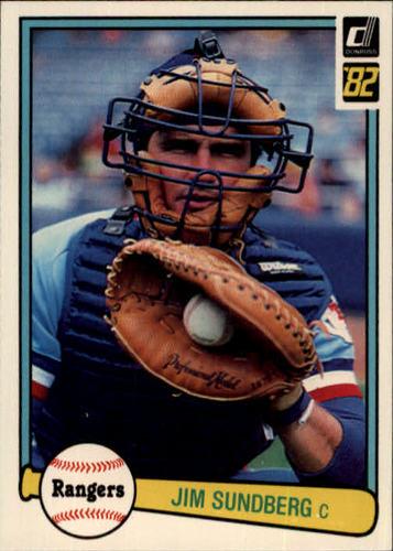 Photo of 1982 Donruss #268 Jim Sundberg