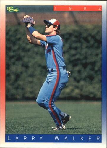 Photo of 1992 Classic II #T39 Larry Walker