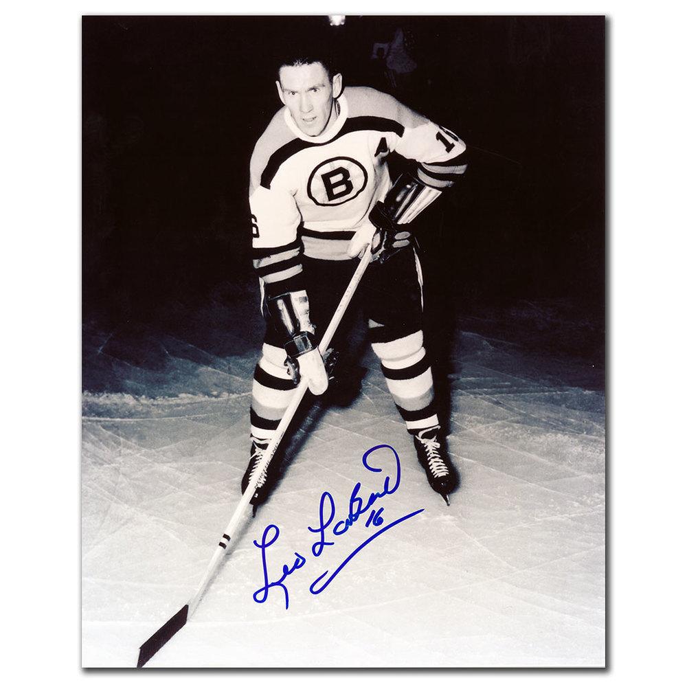 Leo Labine Boston Bruins Autographed 8x10 Photo