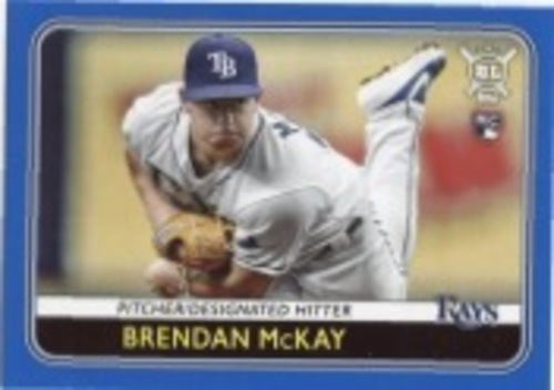 Photo of 2020 Topps Big League Blue #122 Brendan McKay