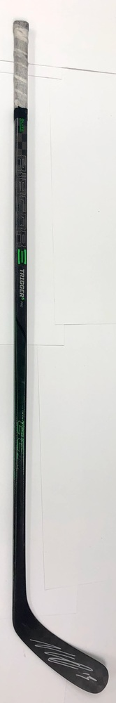 #13 Nico Hischier Game Used Stick - Autographed - New Jersey Devils