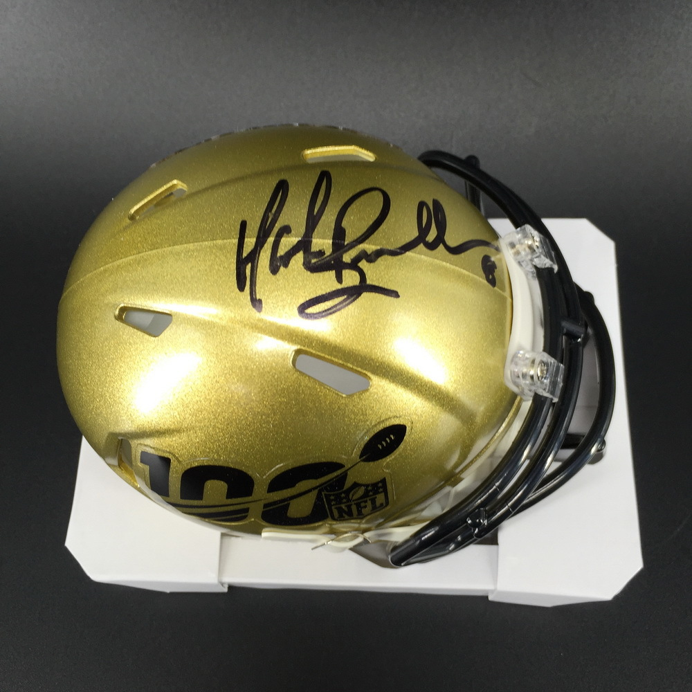Legends - Jaguars Mark Brunell Signed NFL 100 Mini Helmet